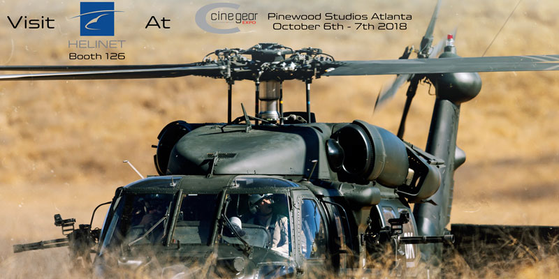 Don't Miss Helinet's Production Group at Cine Gear Atlanta 2018