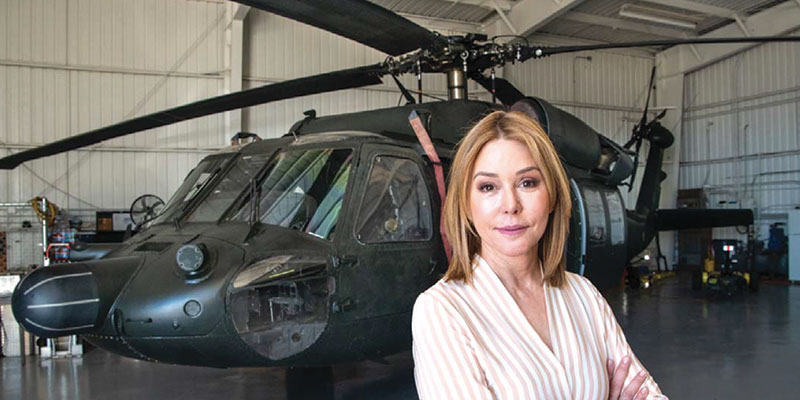 Helicopter Operator Flies Into the Drone Market - San Fernando Valley Business Journal - October 2018
