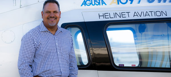James McGowan Jr. joins CEO, Kathryn Purwin, and the Helinet team