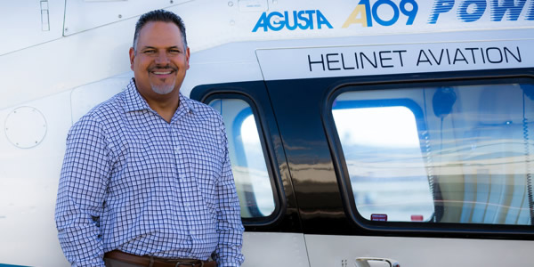 Helinet Aviation Names New President