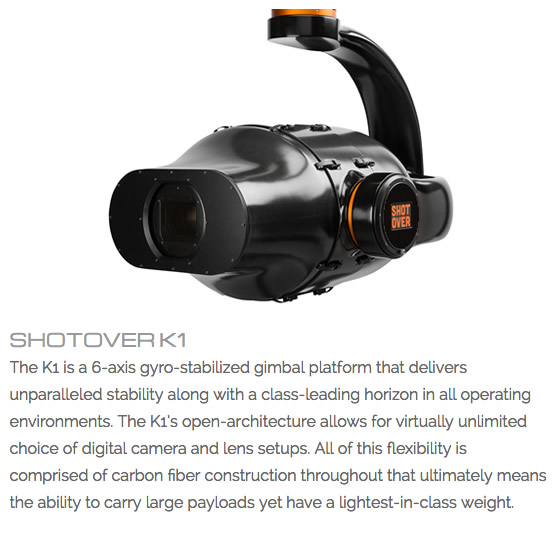 Helinet Production Shotover K1