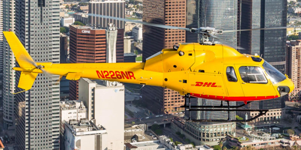 Helinet DHL Helicopter