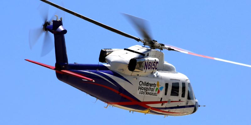 Medical Transport for Children's Hospital Los Angeles