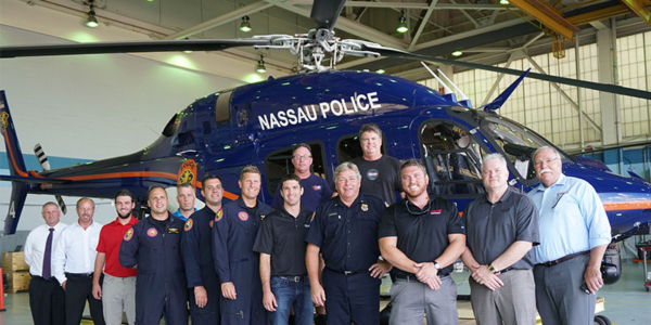 Nassau County Police Helicopter
