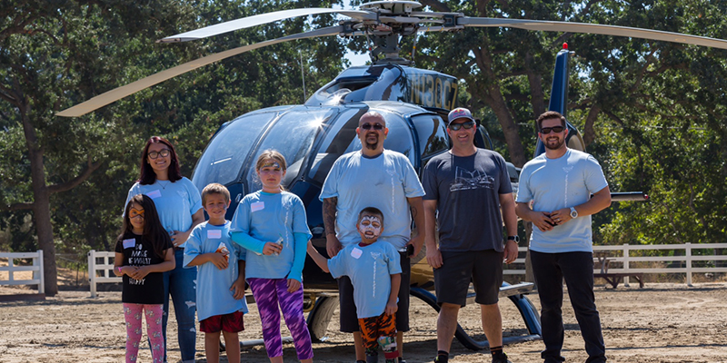 Helinet Aviation Participates in Smile High Club Kickoff Event Honoring Trevor Habberstad