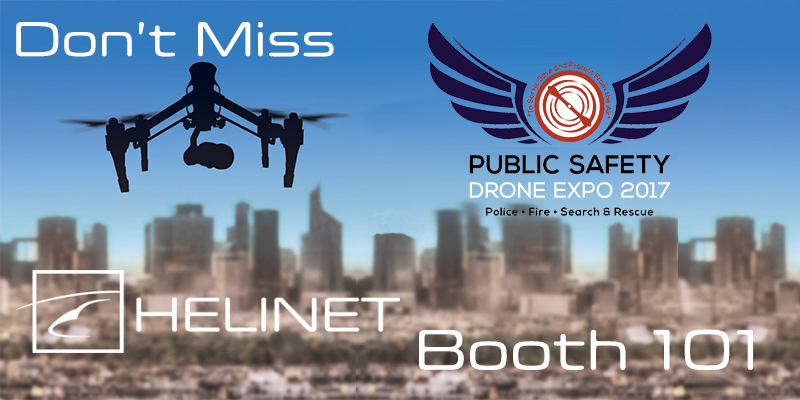 Don't Miss Helinet at the Public Safety Drone Expo 2017