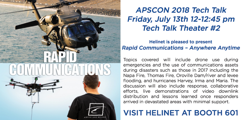 Helinet at APSCON 2018 Tech Talk